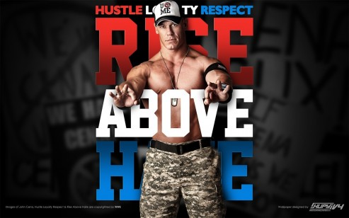 John Cena Rise Above Hate Wallpaper John Cena