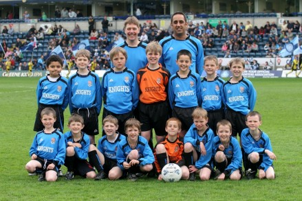 Knights Penalty Team Photo Wycombe Wanderers Fc
