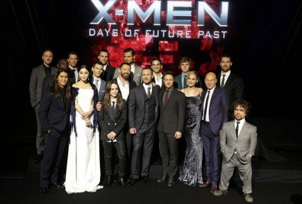 Men Days Of Future Past New York Premiere Main Cast Rgbw Men Days Of Future Past