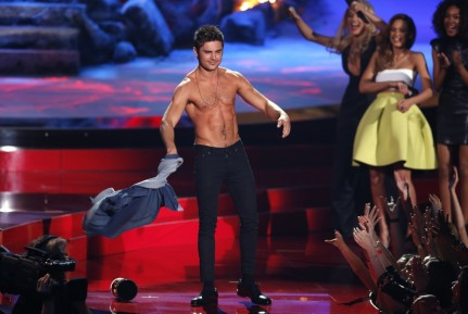 Best Shirtless Performance Nominee Zac Efron From Neighbors