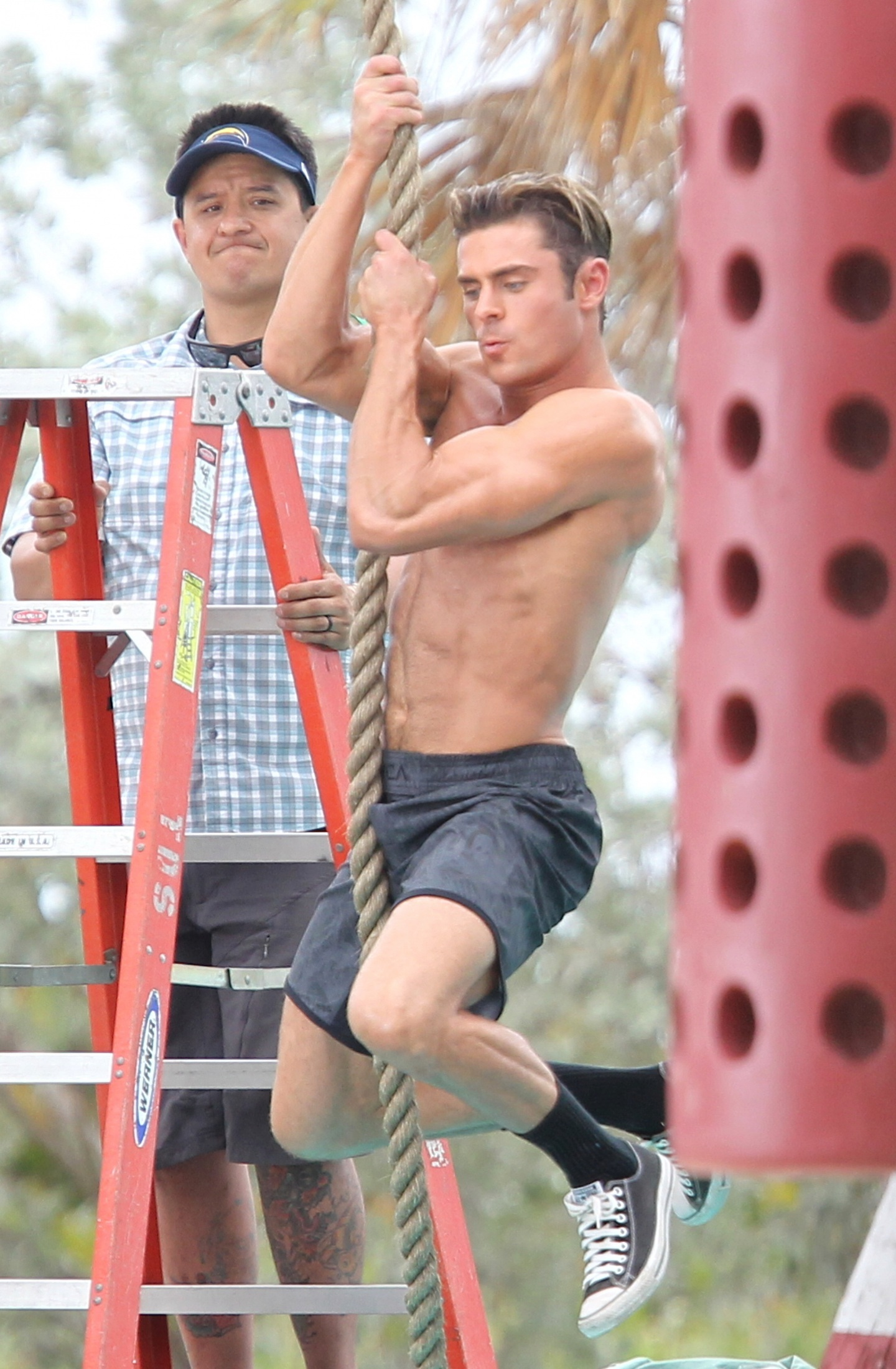Zac Efron Shirtless Zac Efron