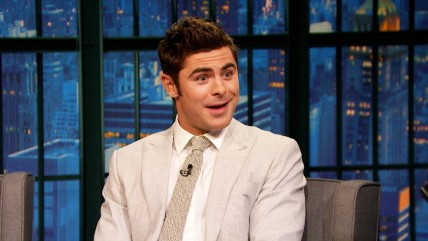 Zac Efron Talks Working With Robert De Niro