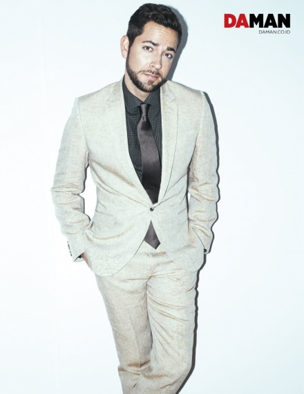 Feature Zachary Levi In Calvin Klein Etro And Drakes Fps Zachary Levi