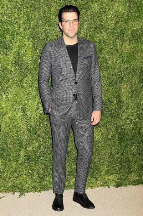 Zachary Quinto Arrives At The Twelfth Annual Cfdavouge Fashion Fund Awards Zachary Quinto