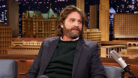 Zach Galifianakis Sons Testicles Fit In Hi