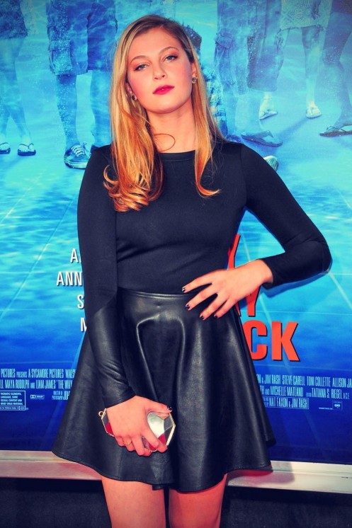 Zoe Levin Attends New York Premiere Of The Way The Way Way Back