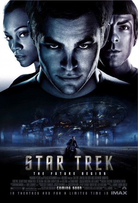 Star Trek Movie Poster Zoe Saldana Star Trek